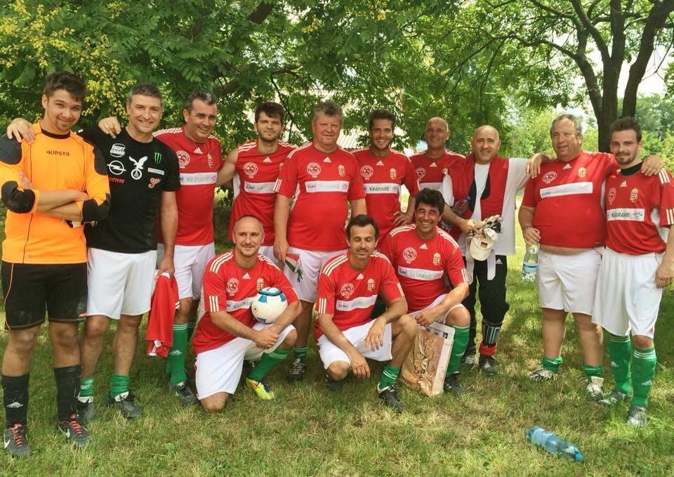 Újra fociztak Egercsehiben