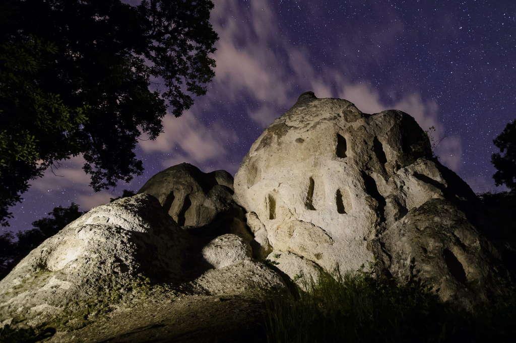 Kaptárkõ a Bükki Nemzeti Park természetvédelmi területén Szomolya közelében. Archív fotó: Komka Péter/MTI