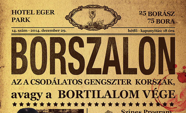 December 29-én újra Borszalon
