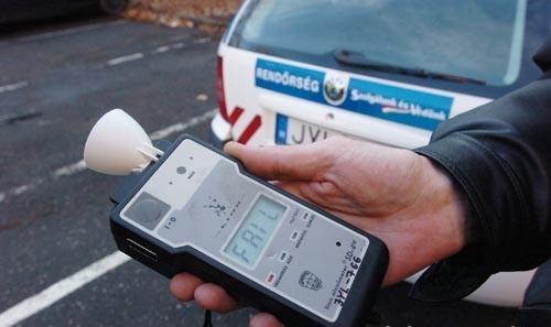 Átfogó rendőrségi ellenőrzés lesz a hétvégén az ittas járművezetők kiszűrésére