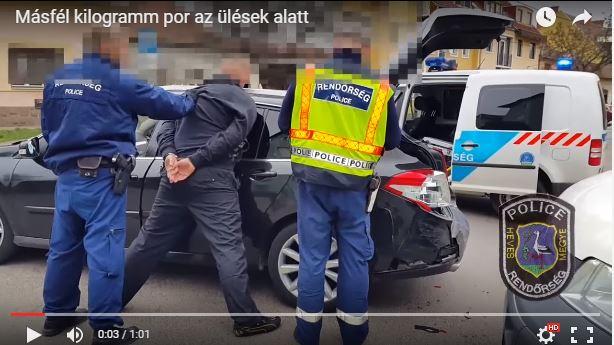 Frissített: Üldözéses rendőri akció volt Egerben – Videó