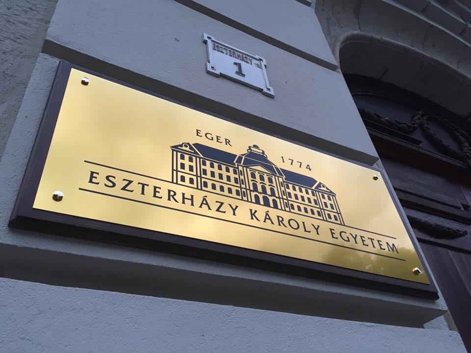 Az Ezsterházy Károly Egyetemre 5999-en jelentkeztek. Archív fotó: Líceum Televízió