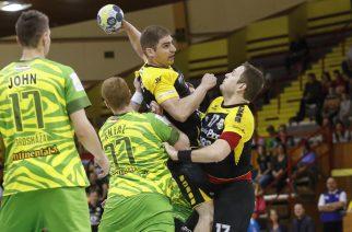 A sárga-feketében játszó egri csapat óriásit küzdött az Orosháza ellen a Ligakupában. (Fotó: Nemes Róbert)