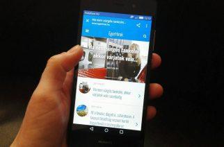 Íme az EgerHírek új, mobilos verziója