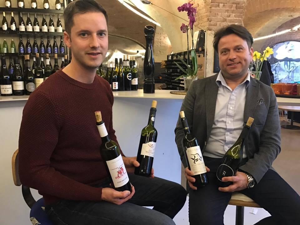 Fiáth Attila, leendő Master of Wine Egri Bikavéreket kóstolt a Fúzióban