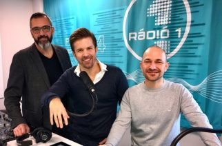 A nagy trió - hamarosan Egerben is hallható lesz reggeli műsoruk (Fotó: rádio1.hu)