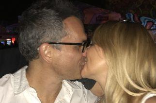 Péter és Viki szenvedélyes csókja a fesztivál első napján (Fotó: Körmendi Gábor)