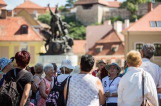 Hatszáz dunántúli turista szállta meg városunkat a hétvégén