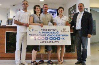 Egymillió látogató a Tisza-tavi Ökocentrumban - Fotó: Kiss János