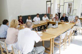Virágos Magyarországért Verseny szakmai zsűrije Egerbe látogatott - Fotó: Nemes Róbert