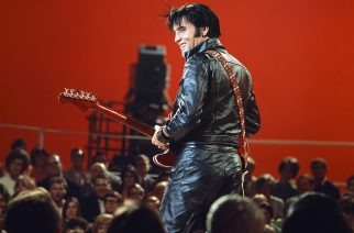 ELVIS: '68 COMEBACK SPECIAL -- Pictured: Elvis Presley during his '68 Comeback Special on NBC -- (Photo by: Gary Null/NBC/NBCU Photo Bank via Getty Images)