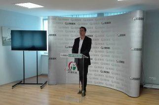 Mirkóczki Ádám, a Jobbik országgyűlési képviselője - Fotó: Molnár Helga