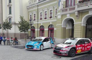 Újra rali autók a Dobó téren - Fotó: Molnár Helga