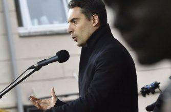 Budapest, 2017. október 23.Vona Gábor, a Jobbik elnöke beszédet mond a párt ünnepi rendezvényén a VIII. kerületi Corvin közben az 1956-os forradalom és szabadságharc kitörésének 61. évfordulóján, 2017. október 23-án.MTI Fotó: Máthé Zoltán