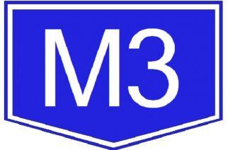 Egy sávra szűkül az M3-as autópálya Gyöngyös és Mezőkövesd között