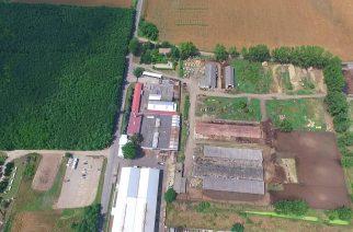 Letették az SBS Kft. automata alapanyag-tároló csarnokának alapkövét Erdőtelken