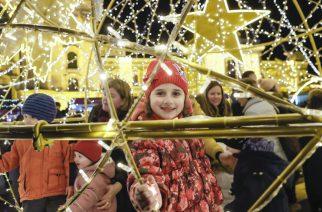 Fotókon mutatjuk mennyire örültetek az ünnepi fényeknek
