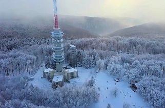 Kékestetőn csaknem 80 centiméteres hó van