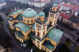Íme az egri Bazilika egy drónról!