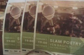 Slam Poetry a Vén Bagolyban. Ott leszel?
