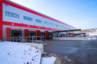 A SEG Automotive hazai részlegének új raktára (Fotó: SEG Automotive)