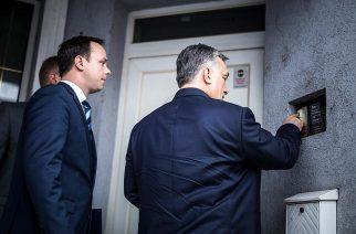 Orbán Viktor egri aláírásgyűjtése