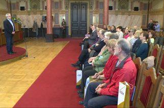 Testvérváros: esslingeni vendégek érkeztek Egerbe