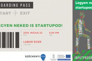 Holnap! Startup képzés a Laborban!