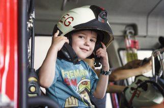 Gyereksereg a tűzoltólaktanyában (fotógaléria)