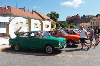 Skoda rajongók találkoztak Egerben