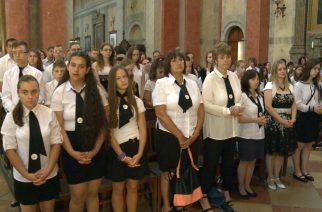 Búcsúztak a tanévtől az egyházi iskolák diákjai, tanárai