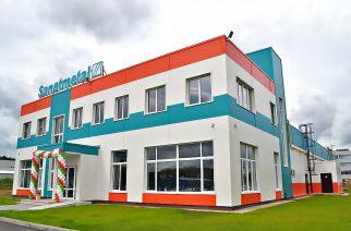 Így néz ki az új, oroszországi gyár (Fotó: Sanatmetal.hu)