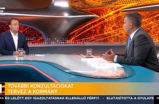 Nyitrai Zsolt: Folytatódnak a nemzeti konzultációk