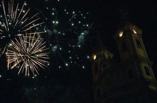 Bámulatos volt a tűzijáték