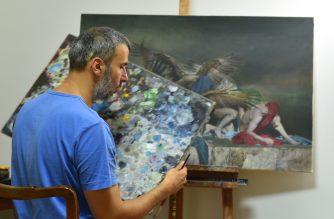 Pogonyi Tibor festőművész kiállítása az Agria Park Galériában!