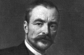 Gróf Tisza István miniszterelnökről készült festménymásolat a Magyar Nemzeti Múzeum anyagából