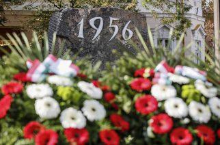 Kifütyülték Mirkóczki Ádámot az 1956-os megemlékezésen Egerben