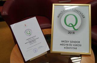Újra! Elnyerte a Minősített Könyvtár címet a Bródy