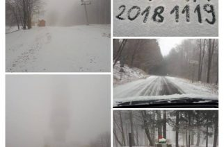 Nos, megérkezett – havas fotók igazolják, most már tényleg itt a tél