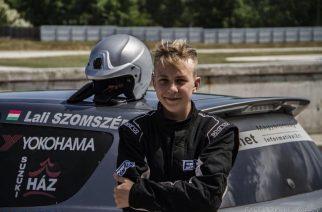 13 éves Egri fiatal a hazai autósport tehetséggyárának büszkesége