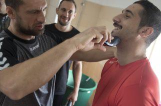 Movember: a HE-DO B.Braun Gyöngyös kézilabdacsapata is csatlakozott a kampányhoz