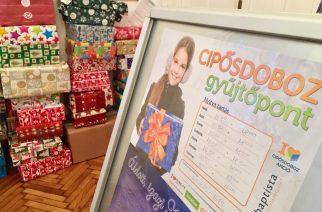 Cipősdoboz akció: több, mint 500 gyermek kap ajándékot