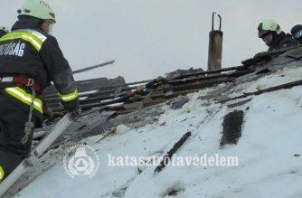 Tűzesetekhez és balesetekhez is vonultak megyénk tűzoltói a hétvégén – összefoglaló