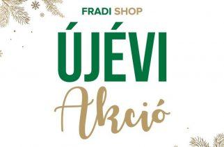 Újévi akció a Fradi Shopban!