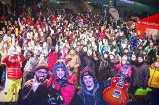 Beatrice, Lotfi Begi és Tóth Gabi adott koncertet a Hófesztiválon