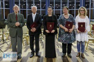 Számos kitüntetést adtak át Egerben a Magyar Kultúra Napján