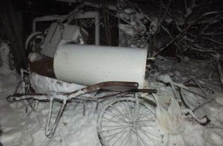A hóban követte a tolvaj nyomait