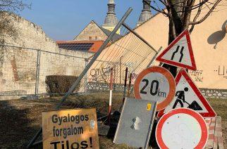 Nincs megállás! A jó idő beköszöntével folytatódik Eger úthálózatának felújítása