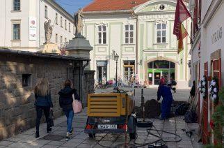 Elkezdődött a Bródy Sándor utca felújítása – Fotók