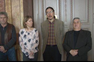 Az Egységben a Városért Képviselőcsoport sérelmezi, hogy levették javaslatukat a napirendről